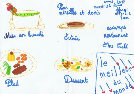 Le Clos Caché : Marni et Artus: Les enfants gastronomes: