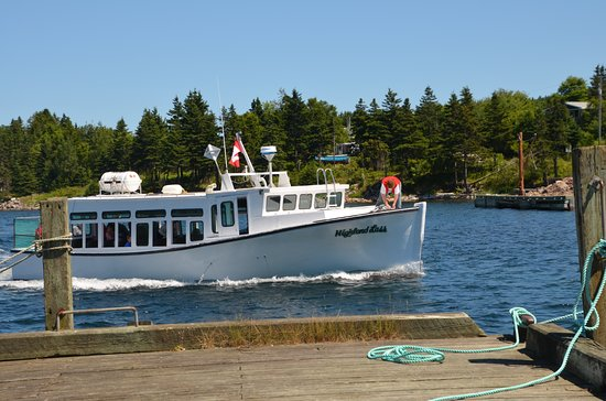 Donelda's Puffin Boat - 1/2 hr N of Baddeck at Englishtown