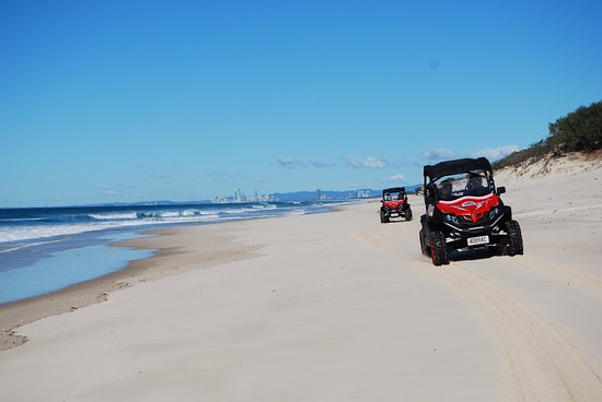Gold Coast Island Buggy Tours: Great views of the Gold Coast