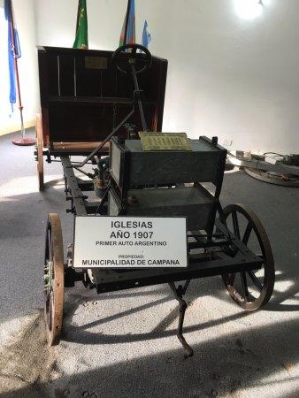 Museo del Automovil Manuel Iglesias: Primer automóvil artesanal argentino