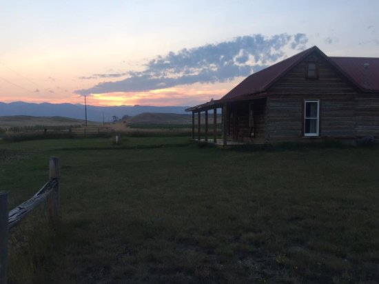 Buffalo, WY: A beautiful Wyoming sunset from the ranch