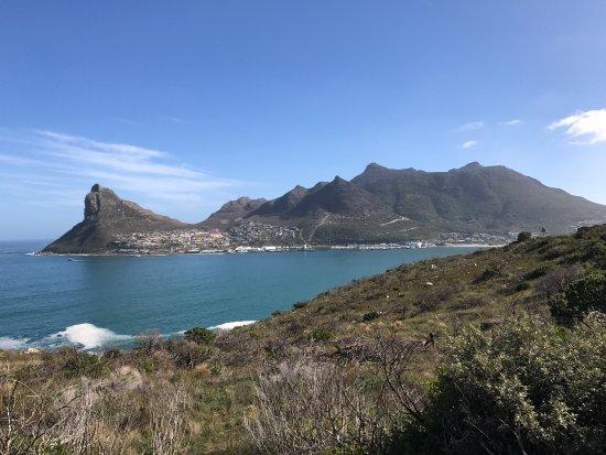 ويسترن كيب, جنوب أفريقيا: Esse é um dos pontos mais bonitos do caminho que nos leva ao Cabo da Boa Esperança... simplesmen