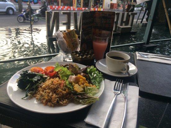 The Haven Bali: 朝ごはんはビュッフェ。種類が豊富でどれも美味しい。