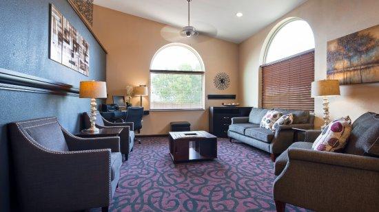 Borger, Teksas: Lobby Sitting Area