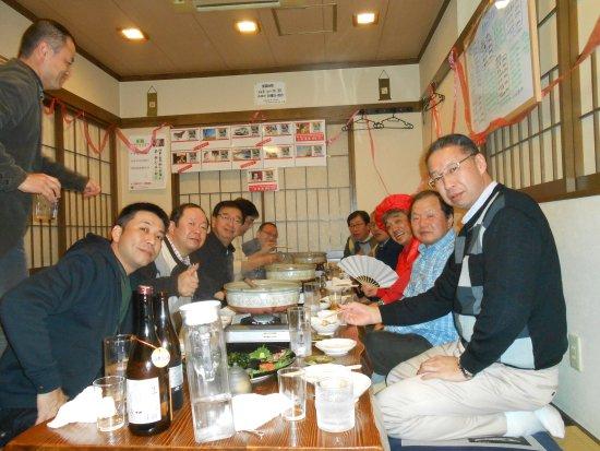 Oyama, Japan: ゴルフコンペ打上&還暦祝いのお客様。予約にて15時から承ります。