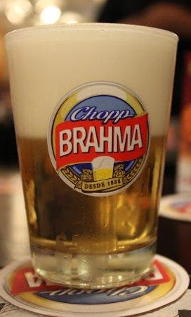 Pederneiras, SP: Venha experimentar nosso delicioso CHOPP BRAHMA, dizem que se o BAR é BOM o CHOPP é BRAHMA #part