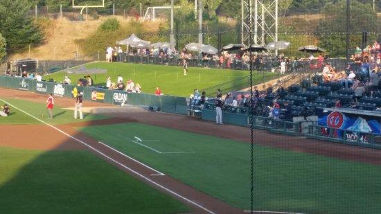Cheney Stadium: Tuesday night at the ballpark.