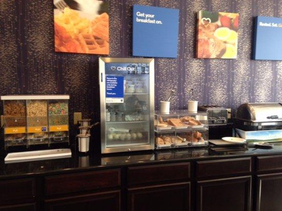 Comfort Inn : Morning breakfast