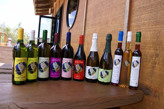 Gladstone, Australia: Our full range of wines, sparklings and liqueurs
