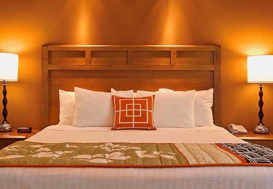 Sebastopol, CA: King Guest Room Sleeping Area