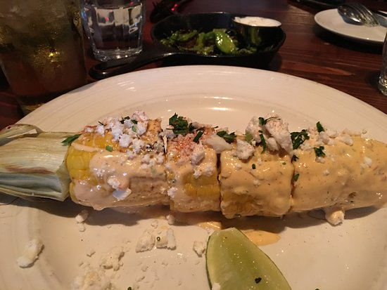 Farmstead at Long Meadow Ranch : Street corn - very good