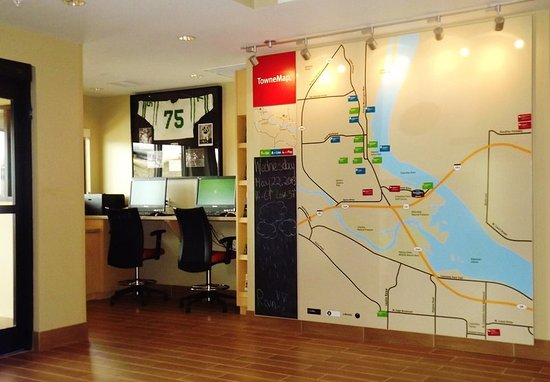 Richland, WA: Business Center & TowneMap