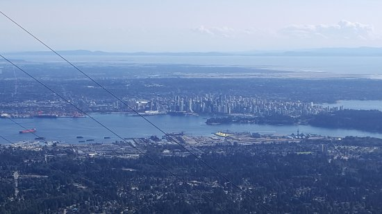 Vancouver Nord, Canada: View from the Ride