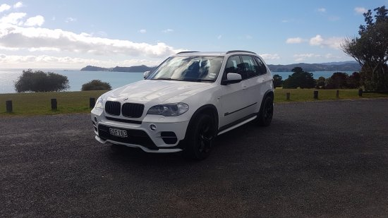 Paihia, Nouvelle-Zélande : Our private tour vehicle for groups of 4 or less