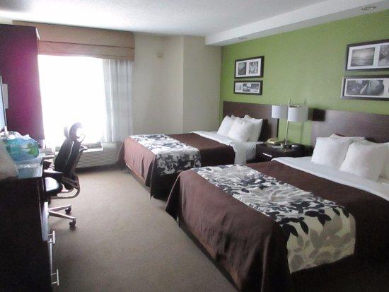 Room at Sleep Inn Aiken