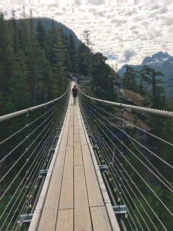Squamish, Canada: Suspension bridge