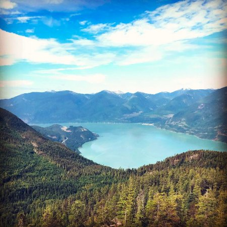 Squamish, Canada: over look on Al's H. trail