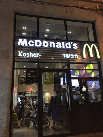 mcdonalds térkép McDonalds (Kosher), Jerusalem   Restaurant Reviews & Photos  mcdonalds térkép