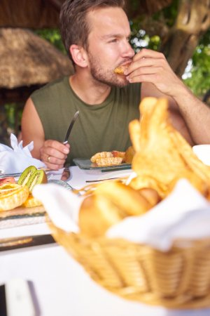 La Maree Beach Restaurant & Bar: Breakfast at La Marée