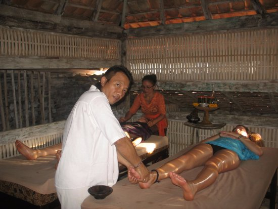 Santhika Spa: Healing massage