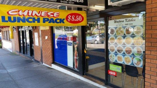 Waitara, Australia: Menu