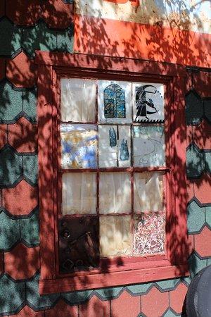 Chloride, AZ: Déco d'une fenêtre