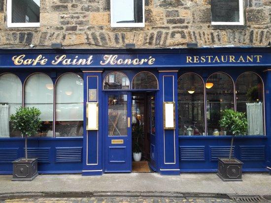 Cafe St Honore Thistle Street Edinburgh