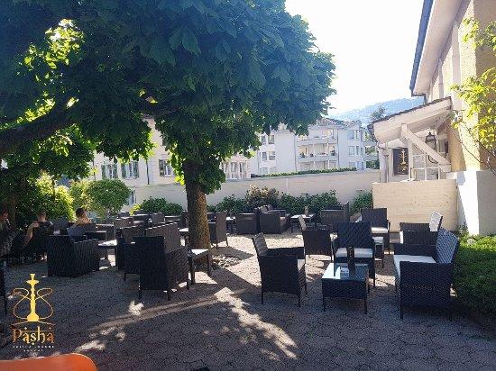Buochs, Suiza: Ausenansicht