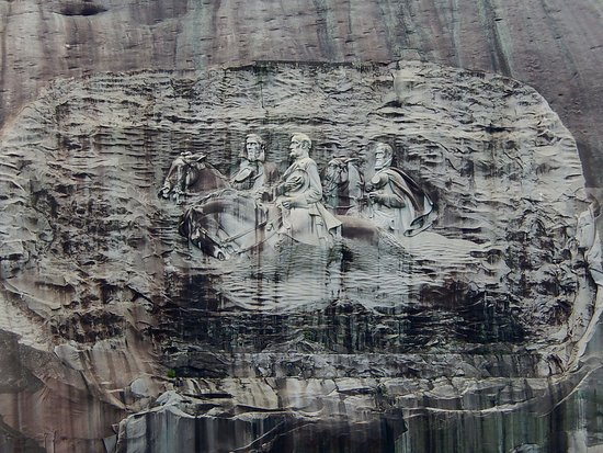 ‪Stone Mountain Carving‬