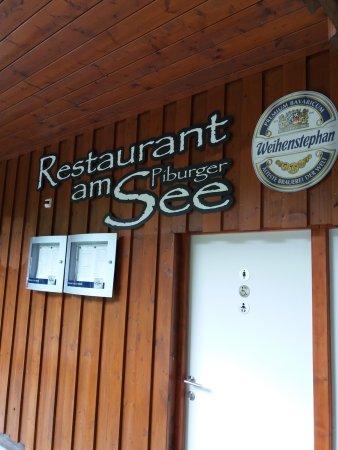 Oetz, Austria: L'ingresso del ristorante