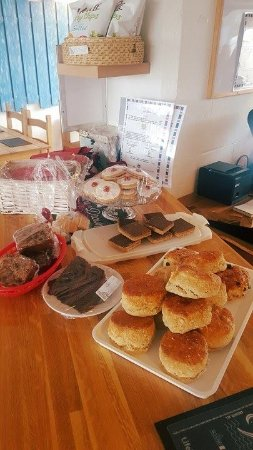 Ardrishaig, UK: Fresh baking daily