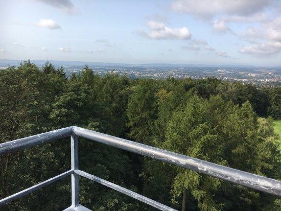 Herford, Niemcy: Auf dem Bismarckturm