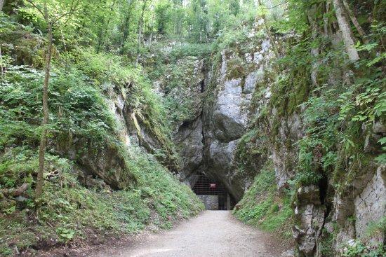 Grahovo, Slovenia: Вход в пещеру.