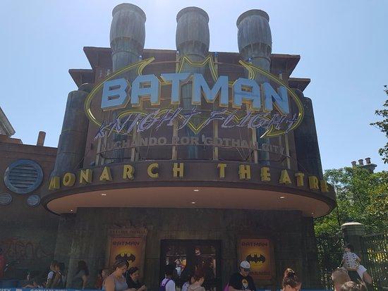 Parque Warner: Batman live