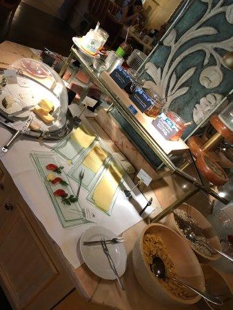 Hotel Garmischer Hof : Breakfast