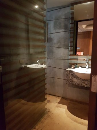 The Fusion Suites Bangkok: Entrance of the bathroom