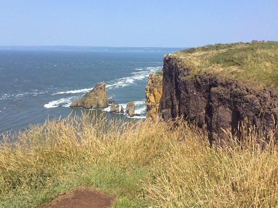 Cape Split Hiking Trail: Views at the Cape.