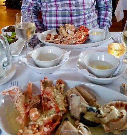 Port Charlotte Hotel: Seafood platter
