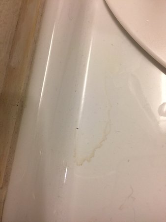 The Cleanliness Of My Bathroom At The Courtyard Marriott Boston