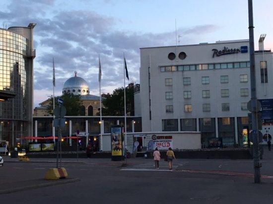 Radisson Blu Royal Hotel, Helsinki: façade