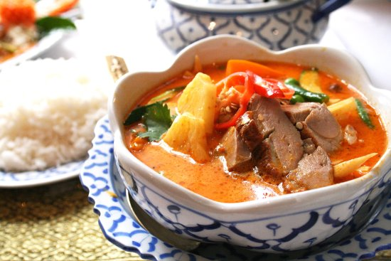 Waihi, Nueva Zelanda: Thai Lemongrass Duck Curry