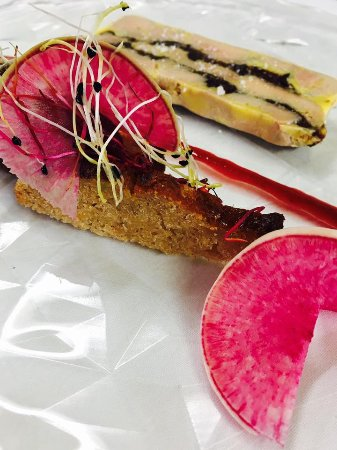 La Chapelle-Janson, Francia: marbré de foie gras, pain dépice