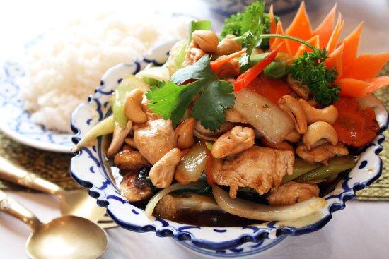 Waihi, New Zealand: Thai Lemongarss Cashew Nuts Chicken