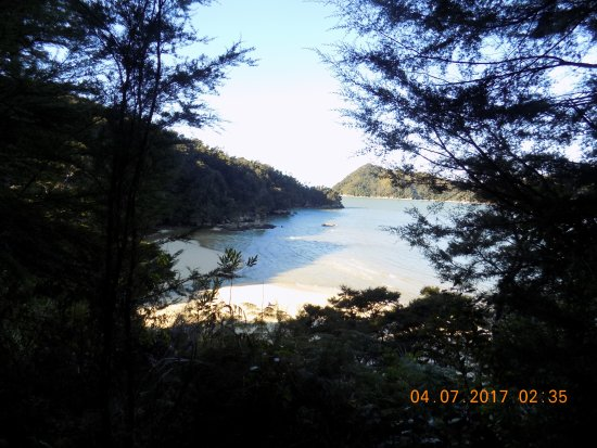 Abel Tasman Coast Track: View from Coastal Track
