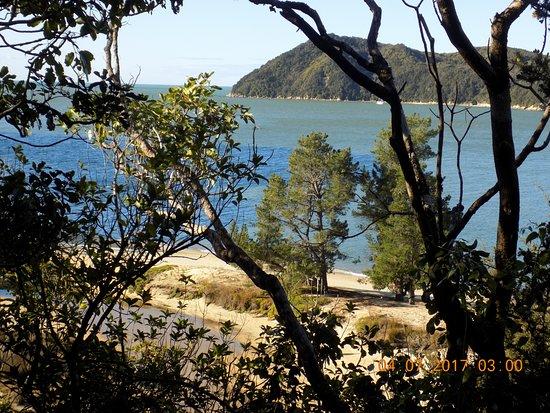 Abel Tasman Coast Track: View from Coastal Track