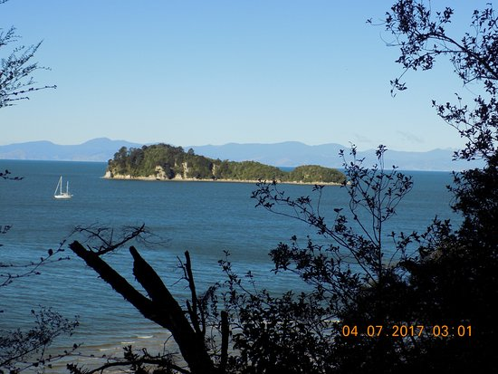 Abel Tasman National Park, New Zealand: View from Coastal Track