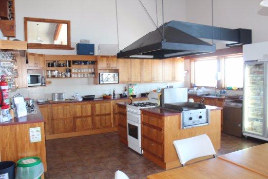 Mount Hotham, Avustralya: Common kitchen area