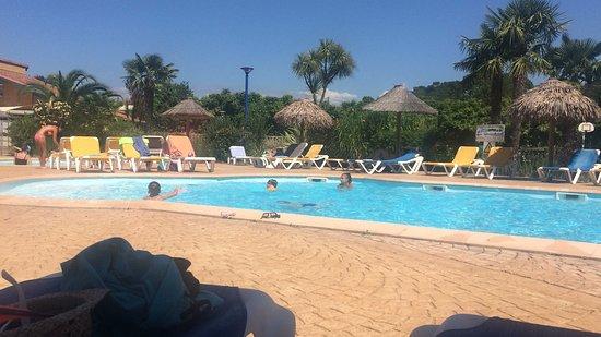 Pataugeoire et piscine photo de camping du lac ondres for Camping lac du bourget piscine