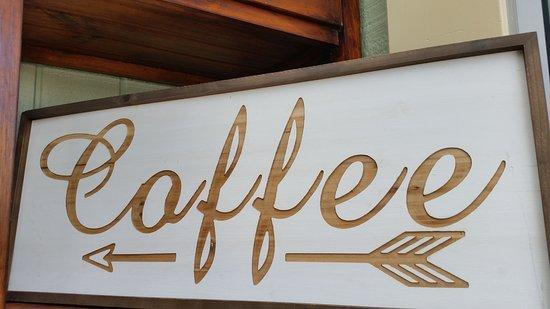 Tewantin, Australia: Says it all. Organic fairtrade Coffee