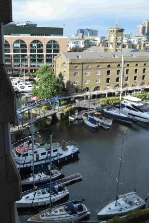 The Tower: Just a part of St Katerine's Dock